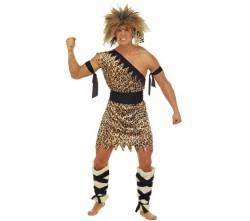 cave-man-tunika-gurtel-beinlinge-bander-fur-arme-und-stirnband