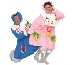 ve-4-baby-ass-hellblau-und-rosa-kostum-mit-latzchen-beinlinge-haube
